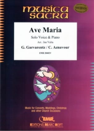 Charles Aznavour - Ave Maria - Partition - di-arezzo.co.uk