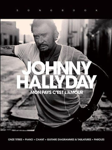 Johnny Hallyday - My country is love - Partition - di-arezzo.co.uk