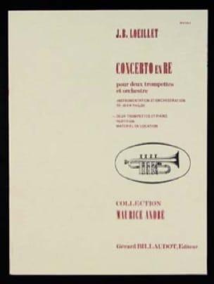 Concerto En Ré - LOEILLET - Partition - Trompette - laflutedepan.com