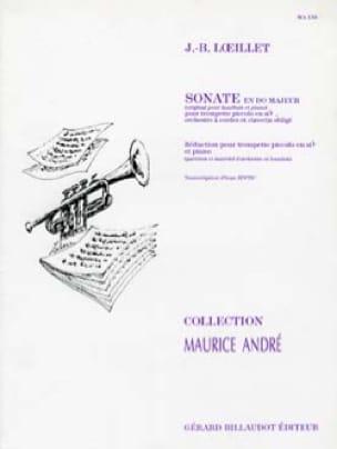 Jean-Baptiste Loeillet - Sonate En Do Majeur - Partition - di-arezzo.fr