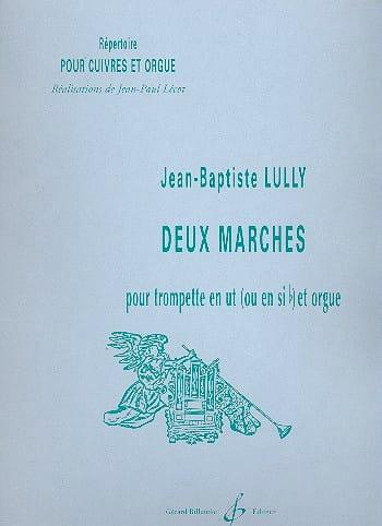 Deux Marches - LULLY - Partition - Trompette - laflutedepan.com
