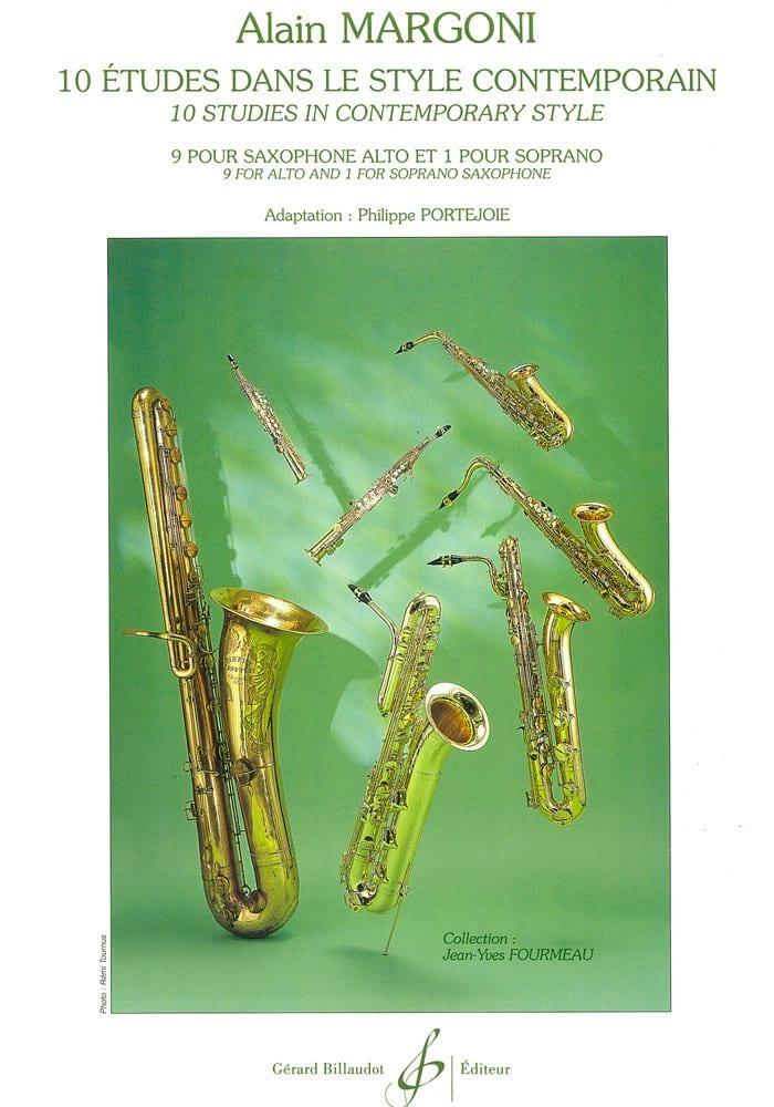Alain Margoni - 10 Studies - Contemporary Style - Partition - di-arezzo.com