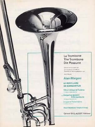 Alain Margoni - The Little Book of Gargantua - Gargantua Learn the Saqueboute - Partition - di-arezzo.com