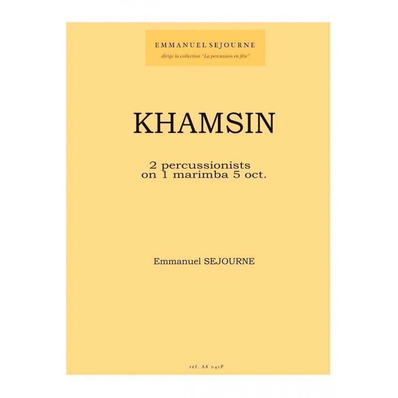 Emmanuel Séjourné - Khamsin - Partition - di-arezzo.com