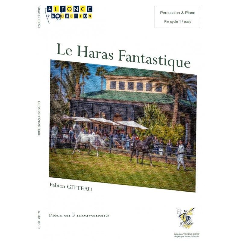 Le Haras Fantastique - Fabien Gitteau - Partition - laflutedepan.com