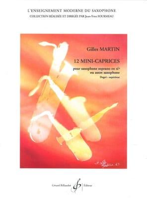 Gilles Martin - 12 Mini Caprices - Partition - di-arezzo.co.uk