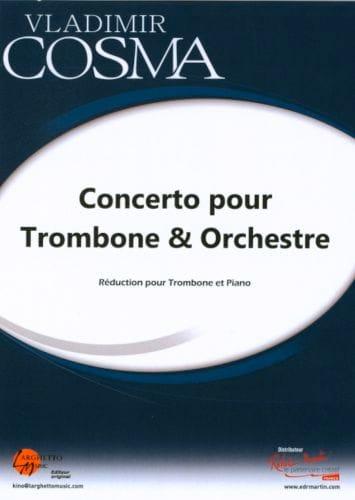 Vladimir Cosma - Concerto for Trombone and Orchestra - Partition - di-arezzo.com