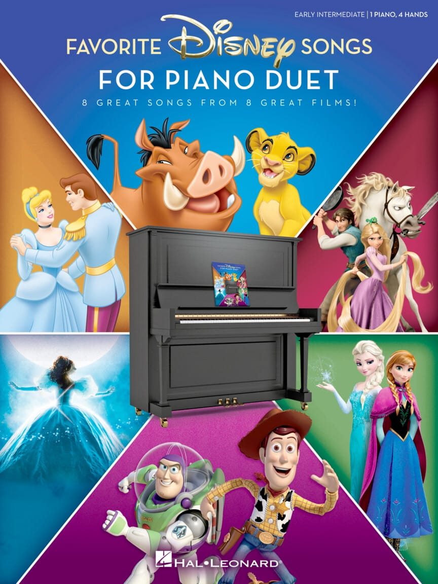 Favorite Disney Songs for Piano Duet - Walt Disney - laflutedepan.com