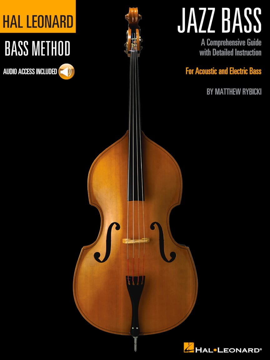 Hal Leonard Jazz Bass Method - Matthew Rybicki - laflutedepan.com