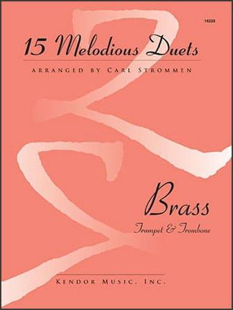 15 Melodious Duets - Partition - laflutedepan.com