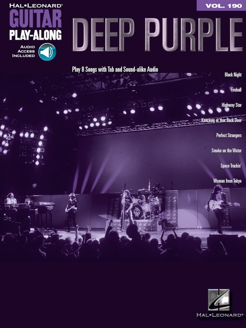Deep Purple - Guitar Play-Along Volume 190 - Deep Purple - Partition - di-arezzo.com