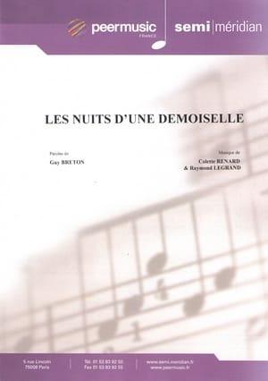 Les Nuits d'une Demoiselle - Colette Renard - laflutedepan.com