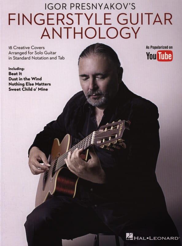 Igor Presnyakov's Fingerstyle Guitar Anthology - laflutedepan.com