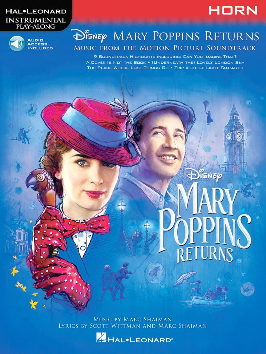 DISNEY - The Return of Mary Poppins - Movie Music - Partition - di-arezzo.co.uk