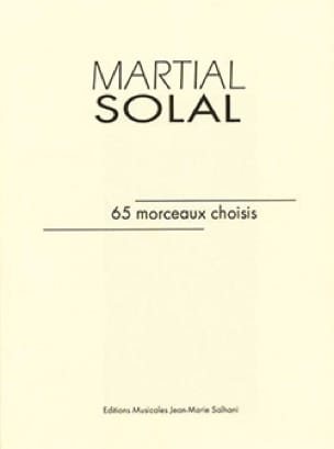 martial solal - 65 pieces selected - Partition - di-arezzo.co.uk