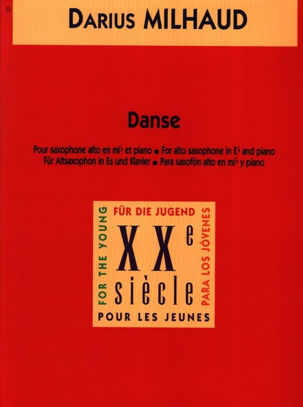 Darius Milhaud - Danse - Partition - di-arezzo.fr