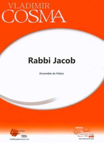 Rabbi Jacob - Vladimir Cosma - Partition - laflutedepan.com