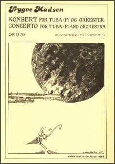 Concerto Opus 35 - Trygve Madsen - Partition - Tuba - laflutedepan.com
