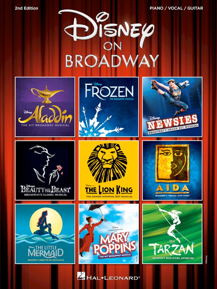 DISNEY - Disney On Broadway - 2nd Edition - Partition - di-arezzo.co.uk