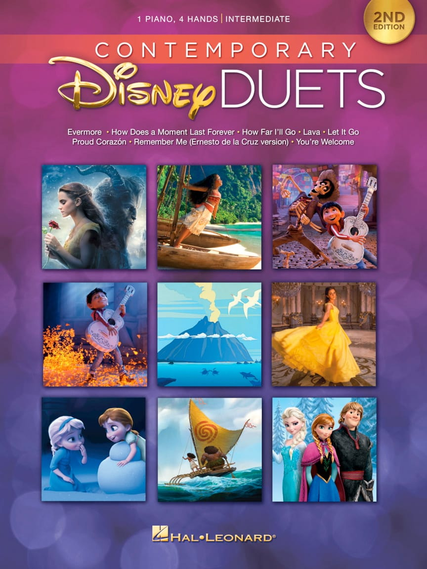 Contemporary Disney Duets - 2nd Edition - DISNEY - laflutedepan.com