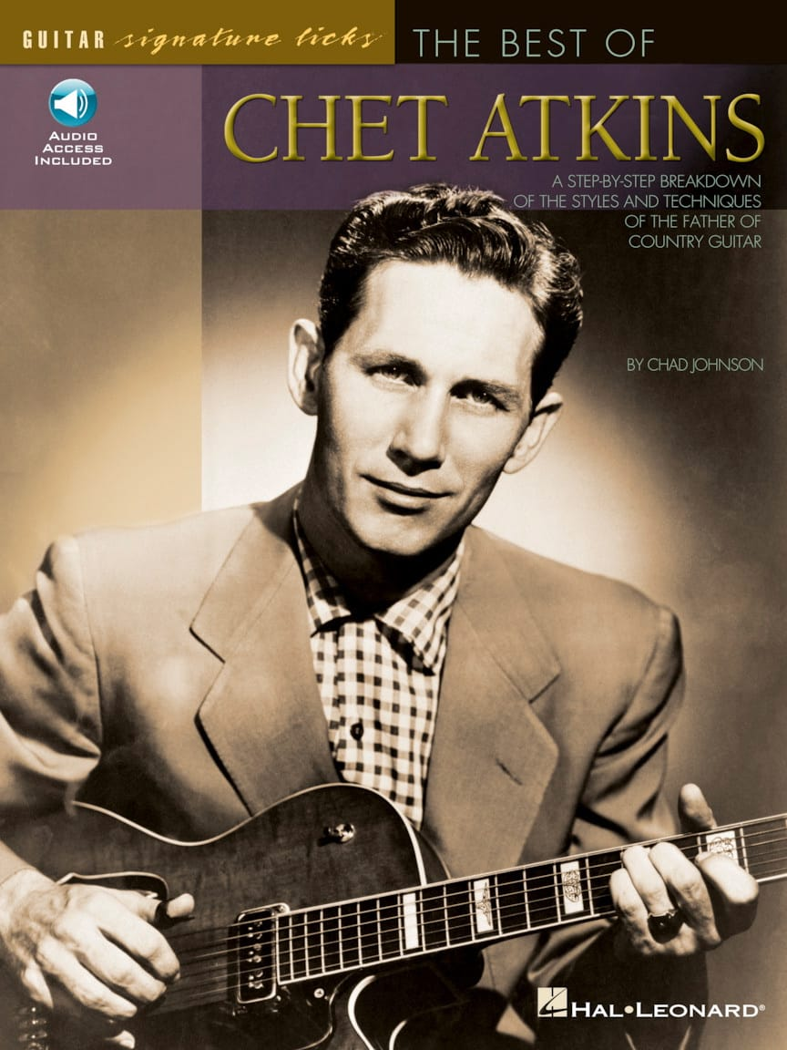 The Best of Chet Atkins - Signature Licks - laflutedepan.com