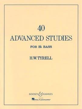 40 Advanced Studies for Bb Bass - H.W. Tyrell - laflutedepan.com
