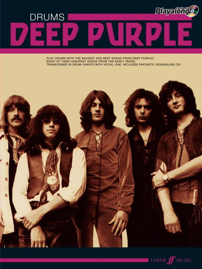 Deep Purple - Deep Purple Authentic Drums Playalong - Partition - di-arezzo.com