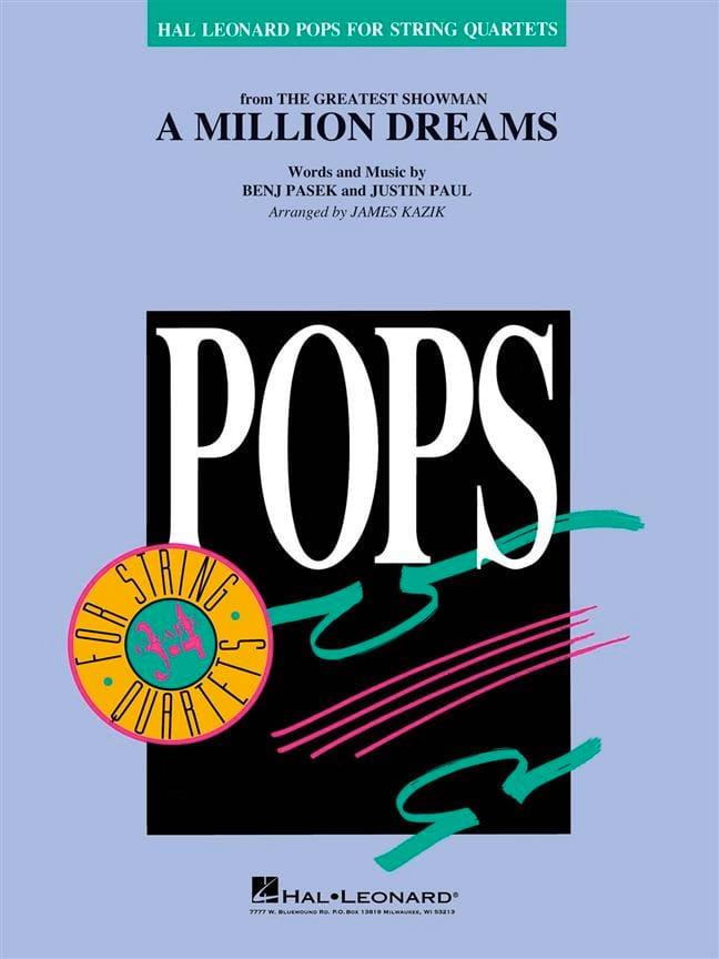 A Million Dreams (The Greatest Showman) - Pops For String Quartets - laflutedepan.com