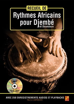 Recueil de rythmes africains pour djembé et doundoun - laflutedepan.com
