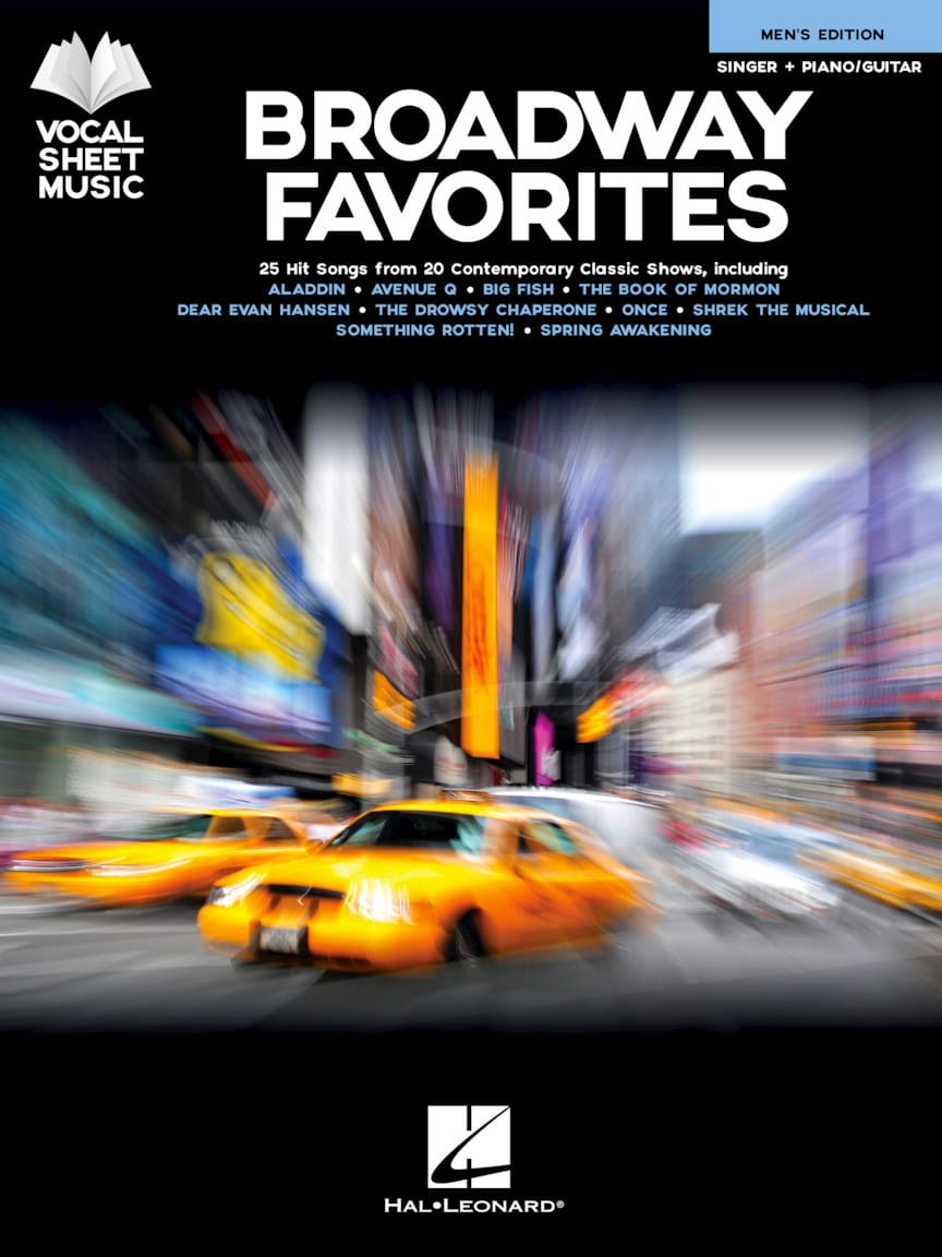 Broadway Favorites - Men's Edition - Partition - laflutedepan.com
