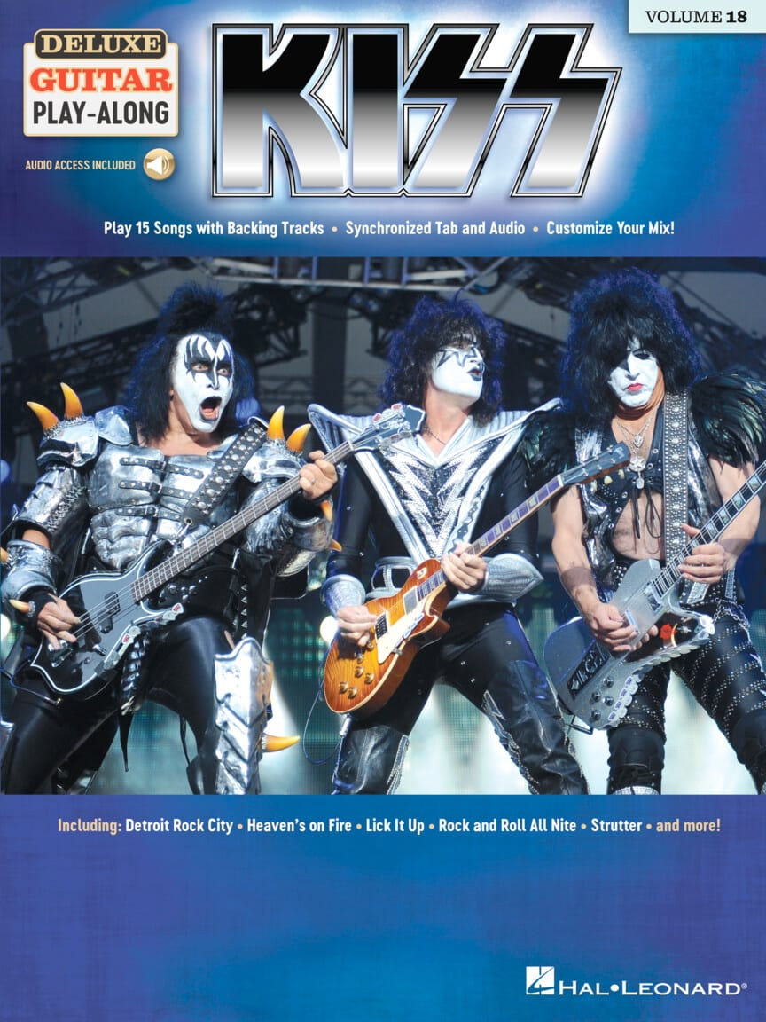 Deluxe Guitar Play-Along Volume 18 - Kiss - Kiss - laflutedepan.com