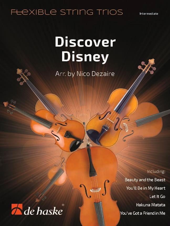 DISNEY - Discover Disney - Flexible Thong Trios - Partition - di-arezzo.com