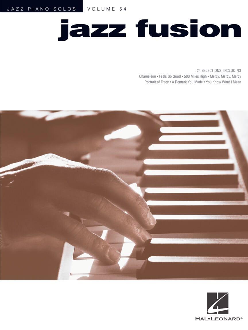 Jazz Piano Solos Series Volume 54 - Jazz Fusion - laflutedepan.com