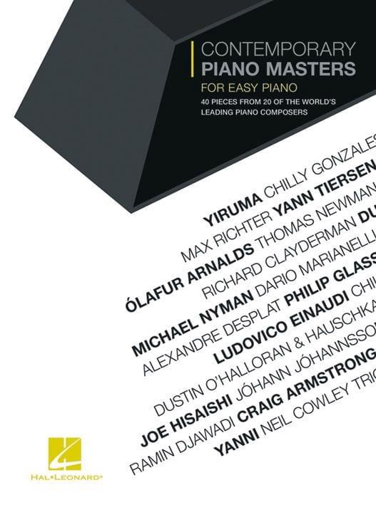 Contemporary Piano Masters for Easy Piano - laflutedepan.com