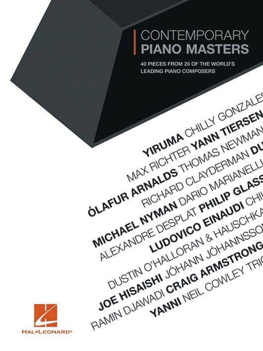 - Contemporary Piano Masters for Piano - Partition - di-arezzo.fr