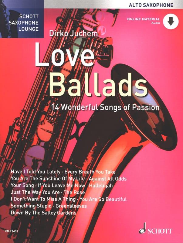 Love Ballads - Partition - Saxophone - laflutedepan.com