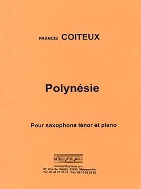 Francis Coiteux - Polynésie - Partition - di-arezzo.fr