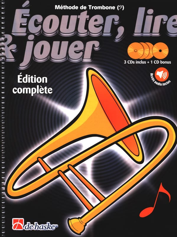 DE HASKE - Play Play and Play - Trombone Method - Complete Edition - Partition - di-arezzo.com