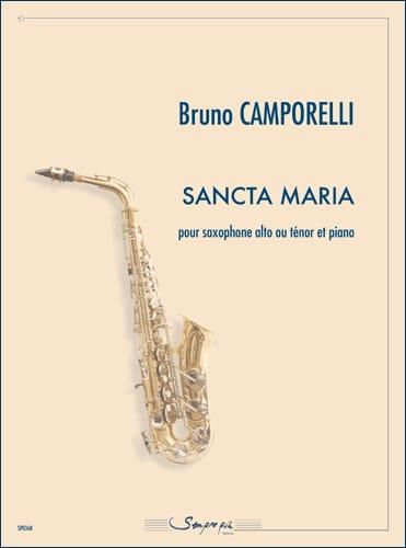 Sancta Maria - Bruno Camporelli - Partition - laflutedepan.com