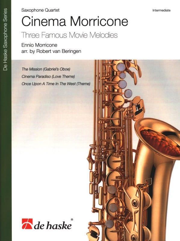 Cinema Morricone - Quatuor de Saxophones - laflutedepan.com