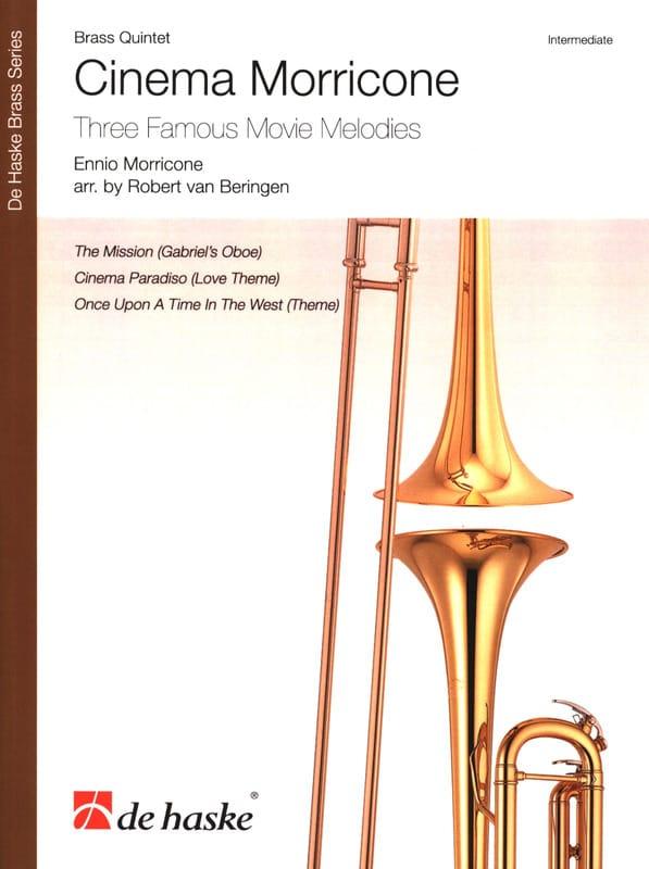 Ennio Morricone - Cinema Morricone - Brass Quintet - Partition - di-arezzo.com