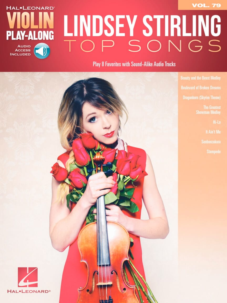 Violin Play-Along Volume 79 - Lindsey Stirling - Top Songs - laflutedepan.com
