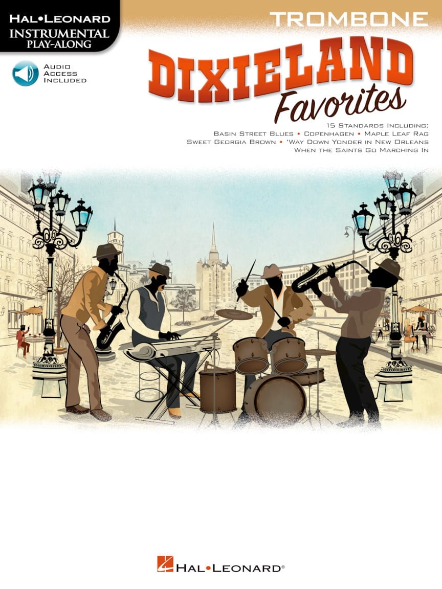 Dixieland Favorites - Trombone - Partition - laflutedepan.com