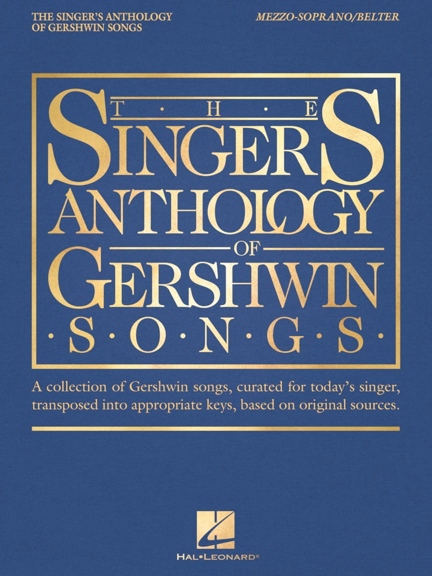 George Gershwin - The Singer's Anthology of Gershwin Songs - Mezzo / Soprano - Partition - di-arezzo.co.uk