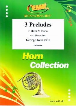 3 Preludes - GERSHWIN - Partition - Cor - laflutedepan.com