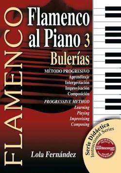 Flamenco Al Piano Volume 3 - Bulerias - laflutedepan.com