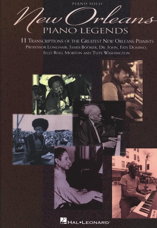New Orleans - Piano Legends - Partition - Jazz - laflutedepan.com