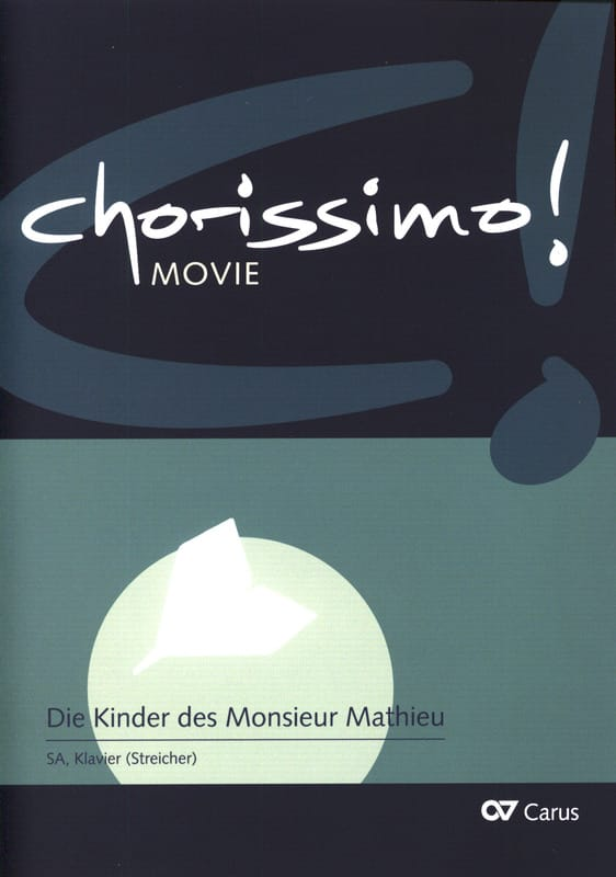 DISNEY - Chorissimo! - Songs from Disney films, Music of the film for Choir - Partition - di-arezzo.co.uk