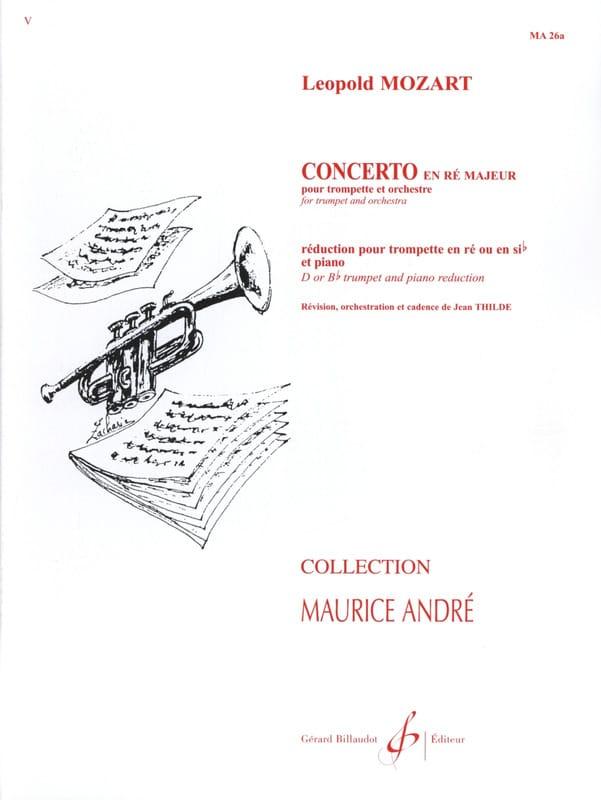 Leopold Mozart - Concerto In D Major - Partition - di-arezzo.com