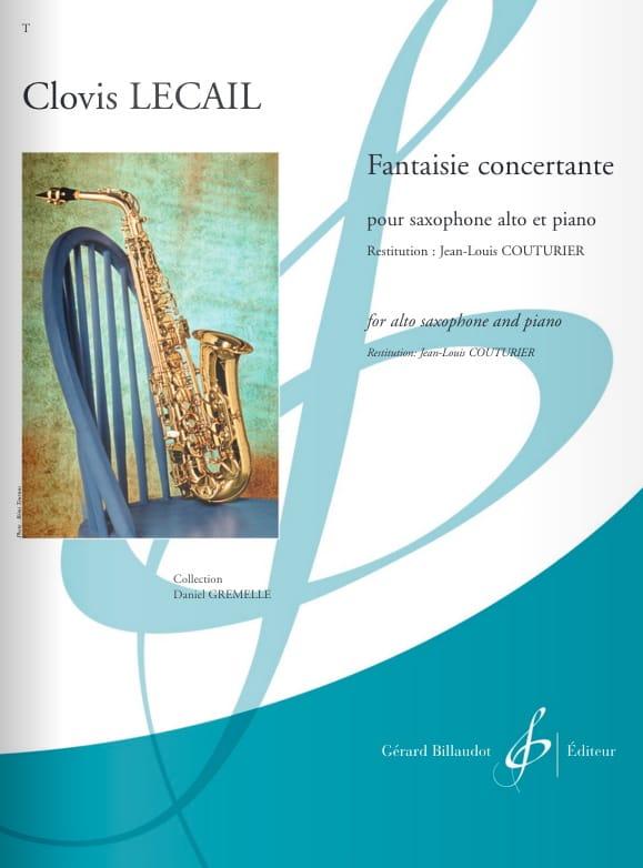 Fantaisie Concertante - Clovis Lecail - Partition - laflutedepan.com